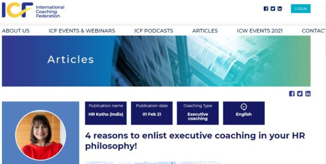 Why should a company hire a coach for its employees?