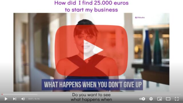 Check out how I found 25.000 euros to start my business!
